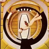 DIE ZUKUNFT DER ARBEIT (Arbeitstitel), Eine Ausstellung der Universität für angewandte Kunst Wien im AIL Angewandte Innovation LAB. Stanley Kubrick, 2001: A Space Odyssey (1963–1965), Filmsetfoto © LACMA – Los Angeles County Museum of Art