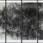 Julie Mehretu Epigraph, Damascus, 2016  Albertina, Wien - Dauerleihgabe der Ludwig-Stiftung für Kunst und Wissenschaft © The artist & Niels Borch Jensen Editions