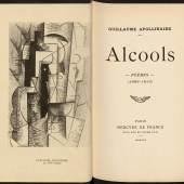 Pablo Picasso: Frontispiz zu Guillaume Apollinaire, Alcools Poèmes, 1913. Radierung, 18,5 x 12,5 cm Preußischer Kulturbesitz, Abteilung Historische Drucke. © VG Bild-Kunst