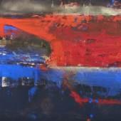 """14. Maria Moser """"Ägyptische Nacht I"""", 2013, Öl auf Leinwand, 80 x 140 cm, signiert  Foto: Galerie Depelmann Edition Verlag"""