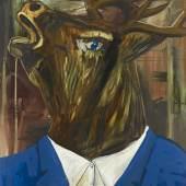 Albert Oehlen Auch Einer, 1985 Öl, Lack auf Leinwand / oil, lacquer on canvas, 220 x 168 cm Im Besitz des Künstlers / Courtesy of the artist Photo: Lothar Schnepf © 2013 Albert Oehlen