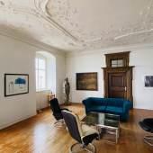 Impressionen aus den Ausstellungsräumen: Emil Schumacher · HA Schult · Georg Meistermann