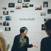 Waterfall at NYABF14. Photo courtesy BJ Enright Photography.