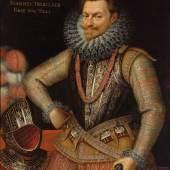 Lot Nr. 16 Frans Pourbus II. (Antwerpen 1569 - 1622 Paris)  Bildnis des Prinzen Philipp Wilhelm von Oranien (1554 - 1618) im Brustharnisch mit dem Orden vom Goldenen Vlies,  Öl auf Leinwand, 102 x 82 cm  erzielter Preis € 575.516