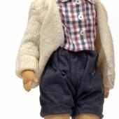 "Nr. 90 Käthe Kruse Puppe ""Friedebald"", Höhe 51 cm Rufpreis € 600"