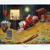 "Carl Barks, (1901-2000) ""Sport of Tycoons"", Deutschland, 1997 Rufpreis € 800"