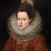 Lot Nr. 12  Frans Pourbus II. Werkstatt  (Antwerpen 1569–1622 Paris)  Bildnis Philipps III. von Spanien, Brustbild; und seiner Gemahlin Margarete von Österreich, Brustbild,  Öl auf Holz, je 67 x 51 cm  erzielter Preis € 393.400 für das Paar