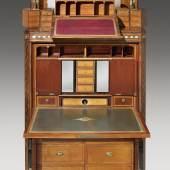 David Roentgen (1743-1807) Klassizistischer Doppelschreibschrank, um 1790  Auktion 21. Oktober 2015  Schätzwert € 150.000- 200.000