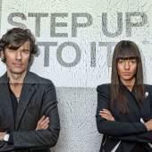 Stefan Sagmeister & Jessica Walsh, Porträt, 2013 © John Madere