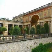 Sanierungsbedürftig: Nordost-Pavillon des Orangerieschlosses im Potsdamer Park Sanssouci. Foto: SPSG / Anne Biernath