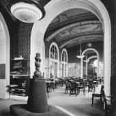 Otto Prutscher, Interieur des Café Ronacher, Schottenring, Wien I., Wien, 1913 © Archivio Famiglia Otto Prutscher, Mailand
