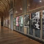 MAK-Ausstellungsansicht, 2019 100 BESTE PLAKATE 18 Deutschland Österreich Schweiz MAK-Säulenhalle © MAK/Georg Mayer