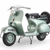 Kat. Nr. 9: 1952 Douglas Vespa 125 2L2, Rufpreis € 1.500