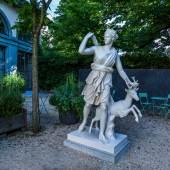 Artemis von Versailles, Abguss einer römischen Marmorkopie nach einem griechischem Original um 330 v. Chr. (?), Foto: Ruedi Habegger, Antikenmuseum Basel und Sammlung Ludwig