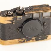 Leica MP black paint, Jahr: 1957 Seriennummer: MP-24 Schätzpreis: EUR 150.000 - 180.000