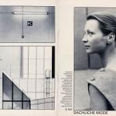 Sibylle 1/1984 © Foto: Ulrich Wüst Reprofoto: Werner Mahler