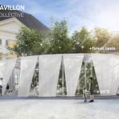 Breathe Earth Collective – Klima-Kultur-Pavillon Breathe Earth Collective, Visualisierung Klima-Kultur-Pavillon (Graz 2021) © Breathe Earth Collective