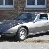 Lot 439 1970 Maserati Indy 4200 Ex-Udo Proksch, Ex-Teddy Podgorski  Schätzwert € 70.000-100.000