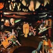 Hieronymus Bosch Nachfolger, Die Hölle, Öl auf Holz, 124 x 97,5 cm  Schätzwert € 200.000 - 300.000
