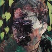 OTTO MUEHL (*1925) Pol Pot, 1989 Siebdruck auf Papier, laviert 100 x 86 cm Privatbesitz © VBK Wien, 2010