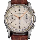 Vacheron Constantin Chronograph Armbanduhr, um 1948, € 15.000