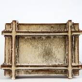 Franz Josef Altenburg, Tafel, vor 1980 Steinzeug, geformt, glasiert © MAK/Georg Mayer