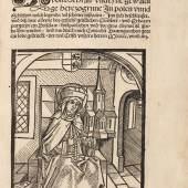 Los 228 Hedwigslegende. - Alhy hebet sich an dy grosse legenda... hedwigis. Breslau 1504. Schätzpreis € 15.000 Ausrufpreis € 10.000 Zuschlag € 26.000