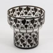 162 Seltene Jugendstil-Vase. Lötz.   Limit 390 € Zuschlag 1380,00 €