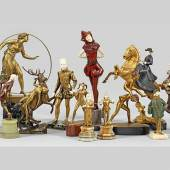 Lot 1691. Aus unserem Angebot an Jugendstil-Bronzeskulpturen.