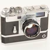 Nikon S3-M chrome, Jahr: 1960 Seriennummer: 6600125 Schätzpreis: EUR 50.000 - 60.000