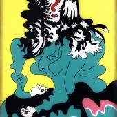 Karl Wirsum Miss Tree, 1968 Acryl auf Acrylglas / Acrylic on acrylic glass, 93 x 60 cm mumok – Museum moderner Kunst Stiftung Ludwig Wien, erworben / acquired in 1974 Photo: mumok © Jean Albano Gallery, Chicago
