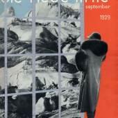 Die neue linie. Sammlung der legendären Bauhaus-Zeitschrift. Verschiedene Jahrgänge, 600,- - 3000,- (KaraJahn, Berlin)