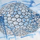Sigmar Polke (1942 - 2010) Untitled, 1998, Acryl auf Papier, 150 x 200 cm, Schätzwert € 250.000 - 300.000 Auktion 31. Mai 2017