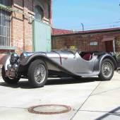 1937 S.S. 100 Jaguar 2 1/2 Littre, einer von 198 zweieinhalb Liter S.S. 100, Schätzwert € 290.000 - 390.000, Rufpreis € 120.000