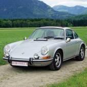 1971 Porsche 911 S 2.2 Liter Schätzwert € 160.000 - 220.000, Rufpreis € 60.000