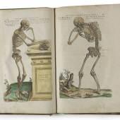 Lot Nr. 290 Andreas Vesalius, De humani corporis fabrica libri septem, Basel, Johannes Oporinus, Juni 1543, Erste Ausgabe, erzielter Preis € 367.237