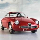 1961 Alfa Romeo Giulietta Sprint Zagato Schätzwert € 340.000 - 440.000 Auktion 21. Oktober 2017