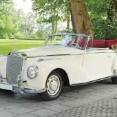 1952 Mercedes-Benz 300 S Cabriolet Schätzwert € 480.000 - 620.000 Auktion 21. Oktober 2017