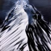 """Herbert Brandl """"O.T."""", 2018, Öl auf Leinwand, 80 x 60 cm Foto: Galerie Reinisch Contemporary Graz"""