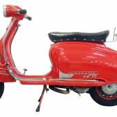 Nr. 49, 1960 Lambretta TV 175, Serie 2, erzielter Preis € 7.130