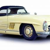 Nr. 603 1960 Mercedes-Benz 300 SL Roadster, Ausstellungswagen der London Motor Show 1960, Schätzwert € 850.000 - 1.000.000
