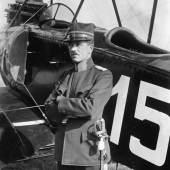 Der Schwyzer Kavallerie-Hauptmann Theodor Real, erster Kommandant der Schweizer Luftwaffe © Flieger Flab Museum, Dübendorf