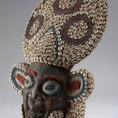 BAMUM MASKE Kamerun. H 68 cm.  CHF 15 000 / 20 000