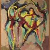 Rupert Rosenkranz (1908 in Aichdorf/Österreich - 1991 in Hamburg), Öl/Leinwand, 50er Jahre, ca. 70,5x60,5cm  Limitpreis 520 €