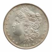 1893-S, PCGS MS 65 CAC Estimate $300/500,000 Courtesy Sotheby's