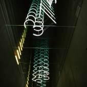 Brigitte Kowanz N 46°38´47´´ E 14°53´31´´, 2007/2008 Installation (permanent), Museum Liaunig, Neuhaus Detailansicht / Detailed View Architektur / Architecture: querkraft architekten Photo: Lisa Rastl Copyright: Bildrecht, Vienna 2017