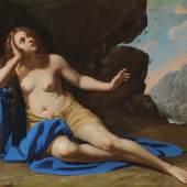 © Dorotheum  Artemisia Gentileschi (1593 - 1653) unter Assistenz (im Hintergrund) von Onofrio Palumbo (1606 - 1656?) Maria Magdalena in Ekstase, Öl auf Leinwand, 129,8 x 180,4 cm, versteigert für € 442.500