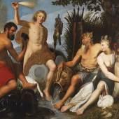 Artus Wolffort (1581 - 1641) Die vier Elemente, Öl auf Leinwand, 158 x 200 cm, Auktion 30. April 2019, Schätzwert € 150.000 - 250.000