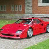 1989 Ferrari F 40, erzielter Preis € 876.600