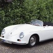 1957 Porsche 356 A T1 Speedster, Schätzwert € 260.000 - 340.000